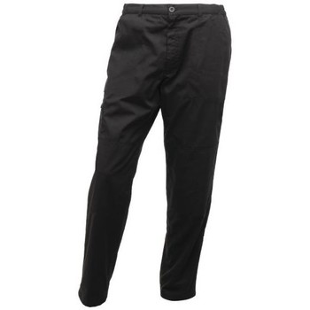 Clothing Men Trousers Professional Pro Cargo Durable Work Trousers Black