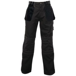 Clothing Men Trousers Professional Hardwear Multiple Pocket Holster Work Trousers Iron Black Black Black
