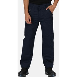 Clothing Men Trousers Professional Pro Action Water-Repellent Work Trousers Blue
