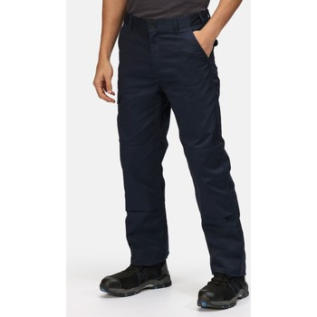 Clothing Men Trousers Professional Pro Cargo Durable Work Trousers Blue