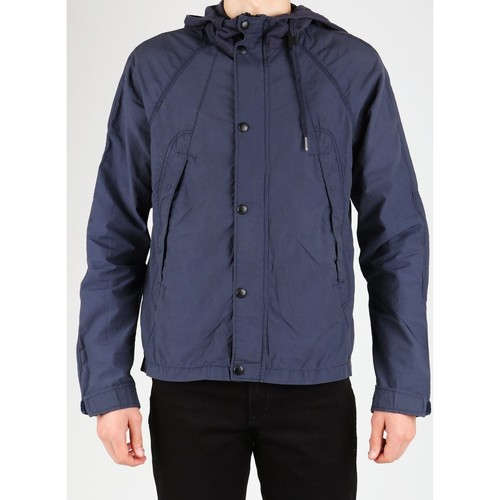 Clothing Men Jackets Guess M22L92W2680 navy