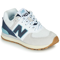 Shoes Low top trainers New Balance GC574SOU White / Blue
