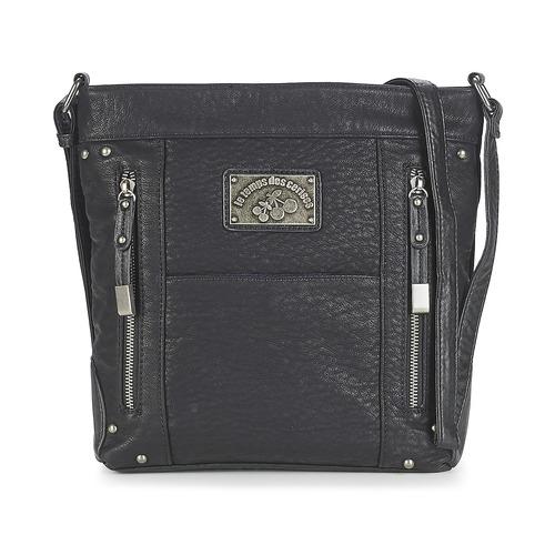 Bags Women Shoulder bags Le Temps des Cerises BONNIE 6 Black