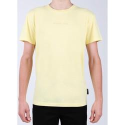 Clothing Men Short-sleeved t-shirts DC Shoes DC EDYKT03376-YZL0 yellow