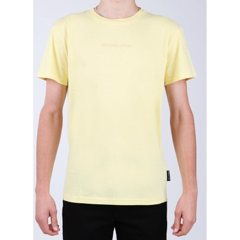 Clothing Men Short-sleeved t-shirts DC Shoes DC EDYKT03376-YZL0 yellow