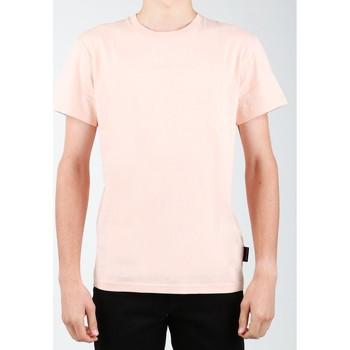 Clothing Men short-sleeved t-shirts DC Shoes SEDYKT03376-MDJ0 orange