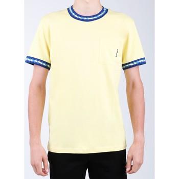 Clothing Men Short-sleeved t-shirts DC Shoes DC SEDYKT03372-YZL0 yellow