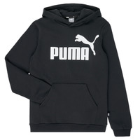 Clothing Boy sweaters Puma ESSENTIAL  HOODY Black