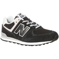 Shoes Children Low top trainers New Balance GC574GK Black