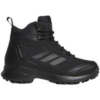 Shoes Men Walking shoes adidas Originals Terrex Heron Mid CW CP Black