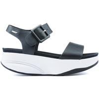 Shoes Women Sandals Mbt MANNI SANDALS 2 BLACK NAPPA