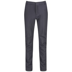 Clothing Men Trousers Regatta Fenton Multi Pocket Softshell Walking Trousers Grey Grey