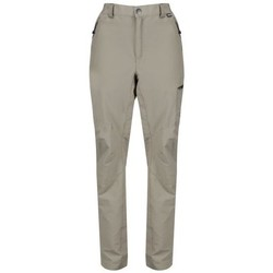 Clothing Men Trousers Regatta Highton Multi Pocket Walking Trousers Cream Cream