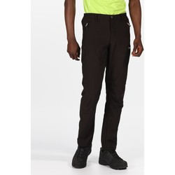Clothing Men Trousers Regatta Geo II Softshell Walking Trousers Black Black Black