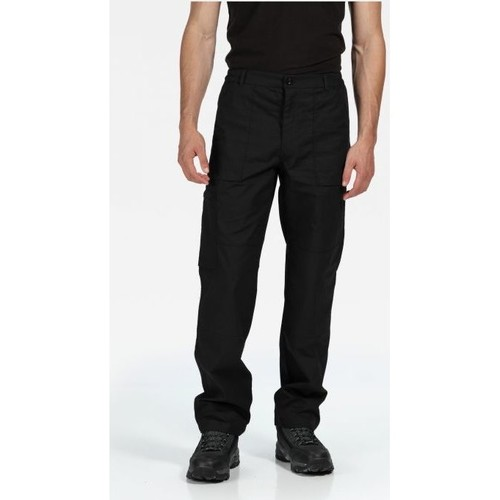Clothing Men Trousers Professional New Action Water-Repellent Trousers Black