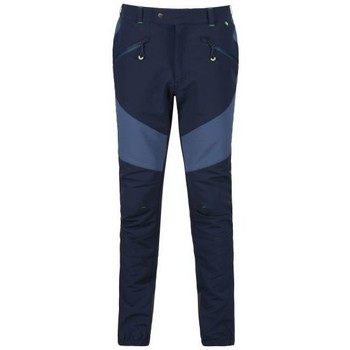 Clothing Men Trousers Regatta Men's Mountain Isoflex Walking Trousers Blue