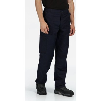 Clothing Men Trousers Professional New Action Water-Repellent Trousers Blue