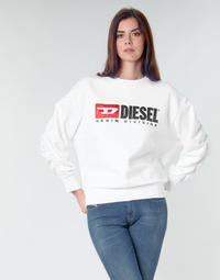 Clothing Women Sweaters Diesel F-ARAP White