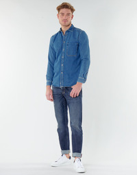 Clothing Men Straight jeans Diesel LARKEE BEEX Blue