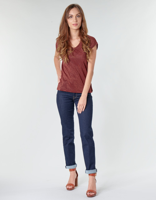 Clothing Women Straight jeans Lee MARION STRAIGHT Rinse