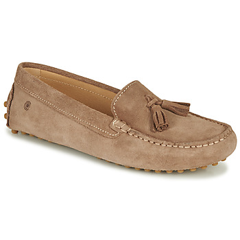 Shoes Women Loafers Casual Attitude JALAYALE Taupe