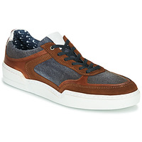 Shoes Men Low top trainers Casual Attitude MELISSI Cognac