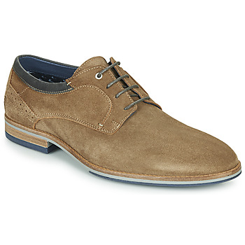 Shoes Men Derby Shoes Casual Attitude MARINA Taupe