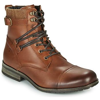 Shoes Men Mid boots Casual Attitude RIVIGH Camel