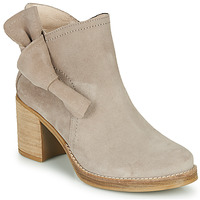 Shoes Women Ankle boots Casual Attitude HIRCHE Taupe