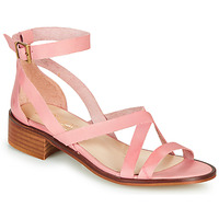 Shoes Women Sandals Casual Attitude COUTIL Old / Pink