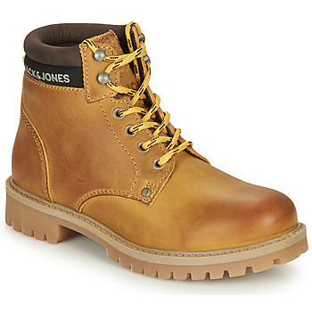 Shoes Boy Mid boots Jack & Jones JFW STATTON LEATHER Honey