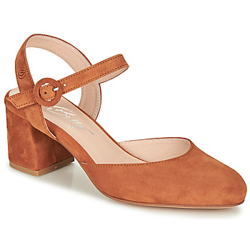 Shoes Women Heels Betty London MALINE Camel