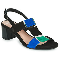 Shoes Women Sandals Betty London MATINE Black / Green