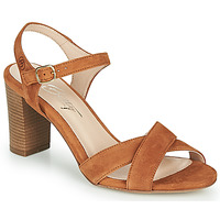 Shoes Women Sandals Betty London MOUDINE Cognac