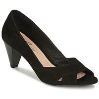 Shoes Women Heels Betty London MIRETTE Black / Suede
