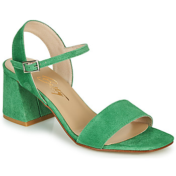 Shoes Women Sandals Betty London MAKITA Green / Suede