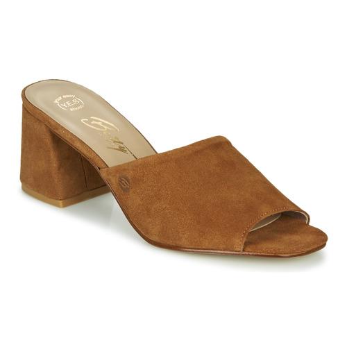 Shoes Women Mules Betty London MELIDA Cognac