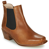 Shoes Women Ankle boots Betty London MERKATO Cognac