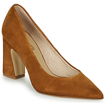 Shoes Women Heels Betty London MONDI Cognac