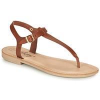 Shoes Women Sandals Betty London JISTINETTE Cognac