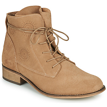 Shoes Women Mid boots Betty London MARILU Beige