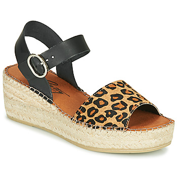 Shoes Women Sandals Betty London MARILUS Leopard
