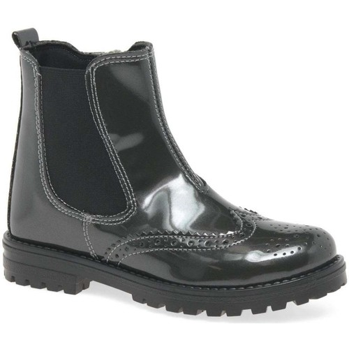Shoes Girl Mid boots Kids At Clinks Assisi Jodhpur Girls Chelsea Boots grey