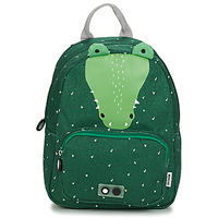 Bags Children Rucksacks TRIXIE MISTER CROCODILE Green