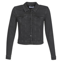 Clothing Women Denim jackets Noisy May NMDEBRA Black