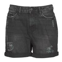 Clothing Women Shorts / Bermudas Noisy May NMSMILEY Black