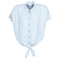 Clothing Women Shirts Noisy May NMGARY Blue / Clear