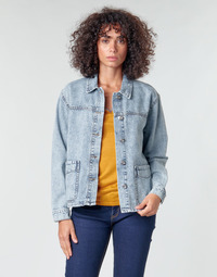 Clothing Women Jackets / Blazers Noisy May NMMELODIE Blue / Clear