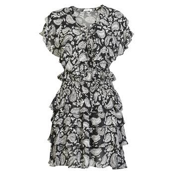Clothing Women Short Dresses Replay  Black / White