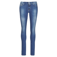 Clothing Women Skinny jeans Replay LUZ Blue / Dark